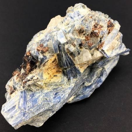 Raro Campione CIANITE con QUARZO e STAUROLITE Minerali GREZZO Cristalloterapia-1