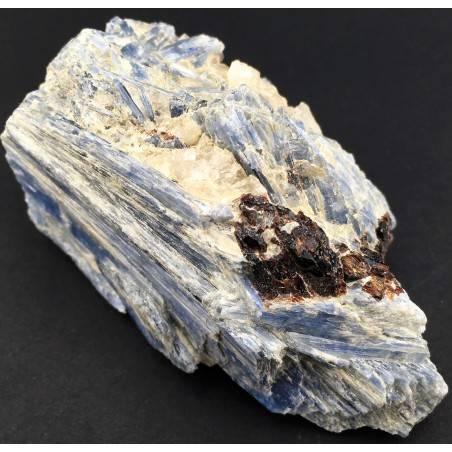 Raro Campione CIANITE con QUARZO e STAUROLITE Minerali GREZZO Cristalloterapia-2