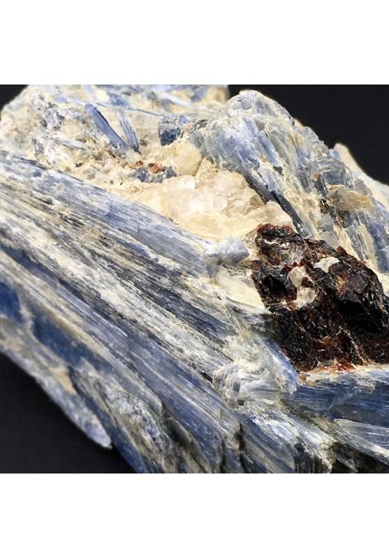 Raro Campione CIANITE con QUARZO e STAUROLITE Minerali GREZZO Cristalloterapia-5