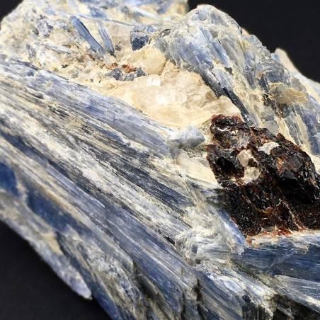 Rare Specimen Kyanite with QUARTZ & STAUROLITE MINERALS Rough Crystal Healing-5