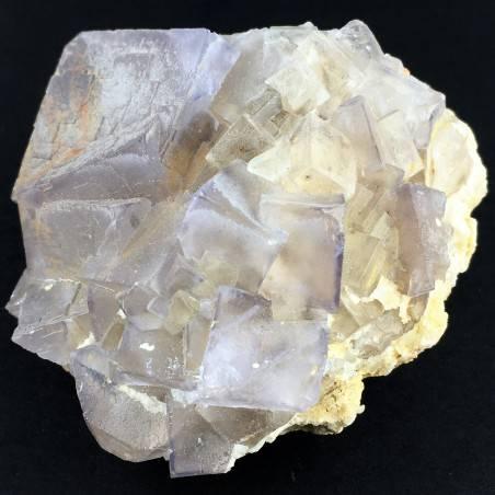 Wonderful Purple Fluorite Color Pure MINERALS Rough Crystal Healing Zen-2
