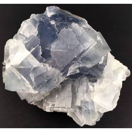 Wonderful FLUORITE Blue Pure MINERALS Rough Crystal Healing Chakra Zen-1