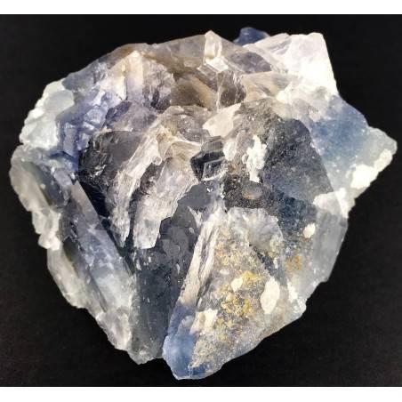 Stupenda FLUORITE Blu Trasparenza Minerali GREZZO Cristalloterapia Chakra Zen-2