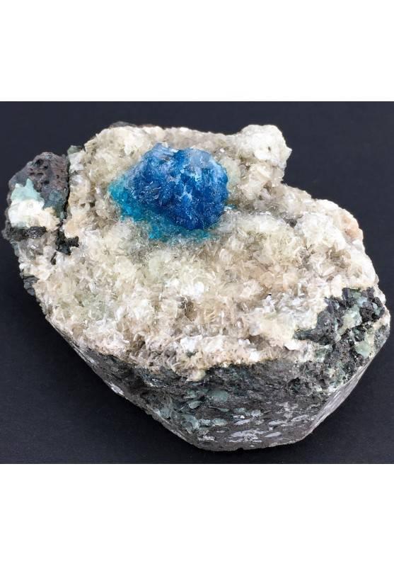 Preziosa GEMMA di CAVANSITE Matrice Alta Qualità Minerali Cristalloterapia Reiki-2