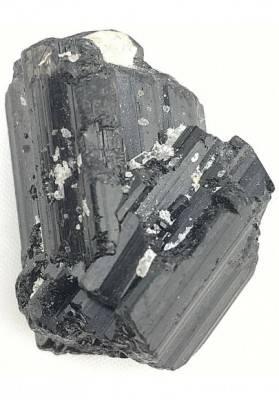 Stupendo Campione di TORMALINA NERA Grezza SCHORLITE Minerale Collezionismo-2