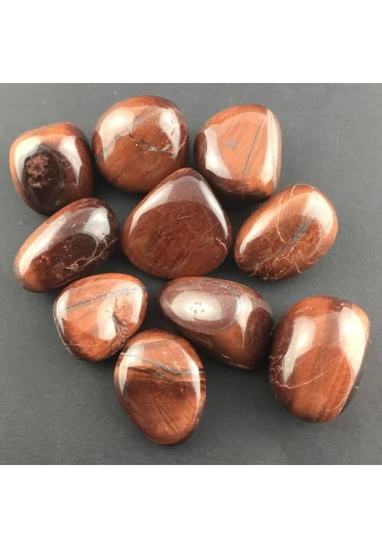 Bull EYE Tumbled Stone MINERALS Crystal Healing A+ [ Tumbled Bull's Eye Stone-1