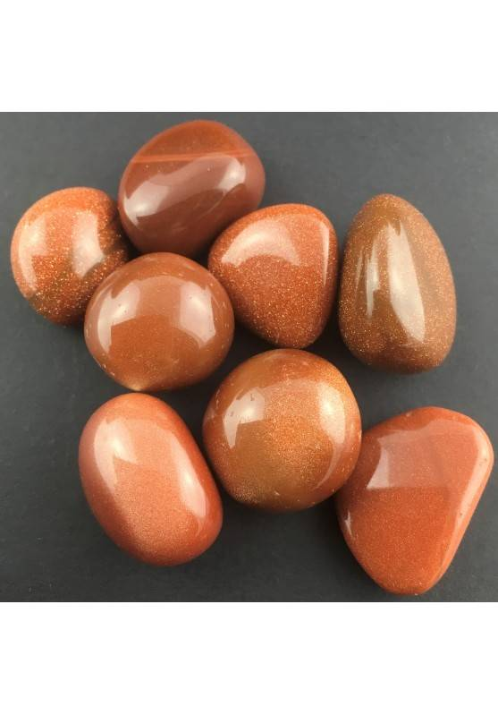Red SUN STONE Tumbled Stone Crystal Healing [Pay Only One Shipment]-1
