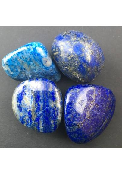 Lapislazzuli Burattato Cristalloterapia Minerale A+[ Lapislazzuli Tumbled Stones-1
