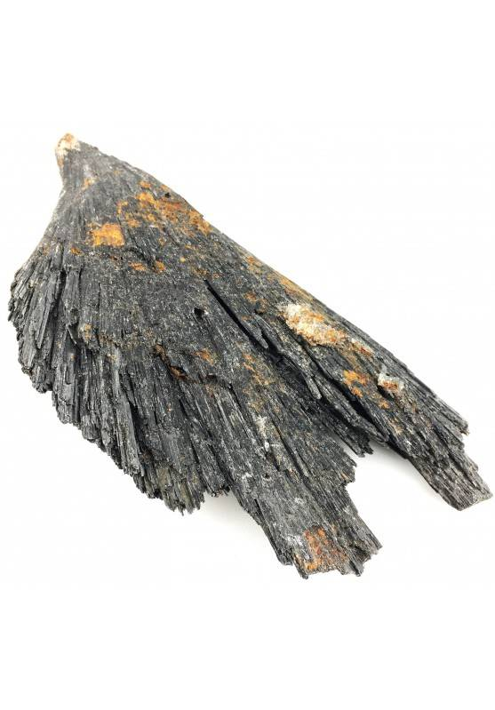 Rare RETICITE Var. BLACK Kyanite Rough Specimen Crystal Healing Chakra-1
