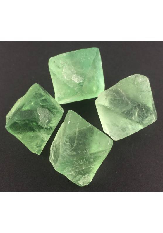 Fluorite Ottaedrica Grezza Grande Doppia Piramide Quarzo Chakra Feng Shui A+-1