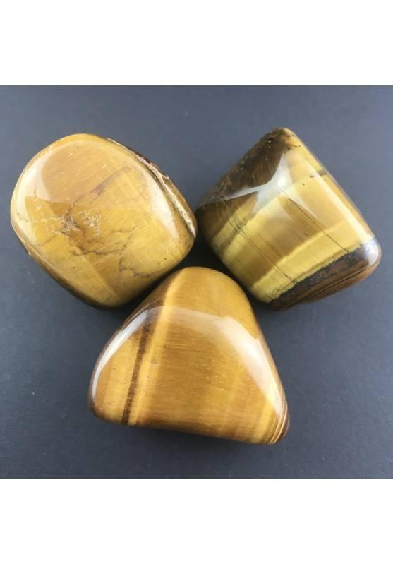 TIGER EYE Tumbled JUMBO Selected Crystal Minerals Crystal Healing-1