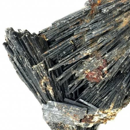 Wonderful RETICITE Varietà Rough Black Kyanite Specimen Crystal Healing Zen-2