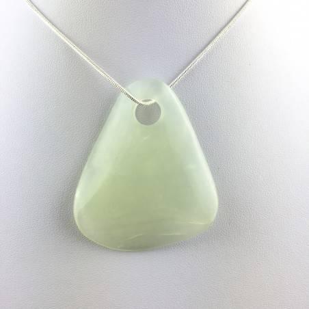 JADE BIG Pendant Leaf - TAURUS ARIES LIBRA Crystal Healing MINERALS-2