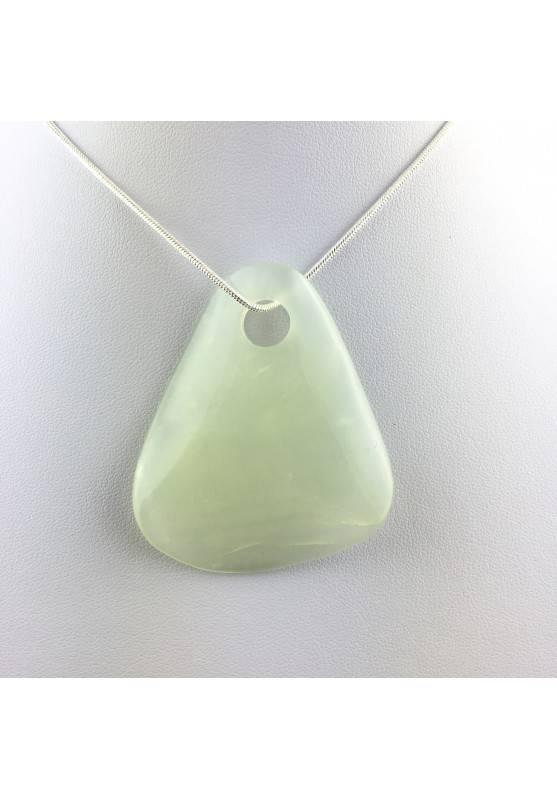 Sfoglia di Giada GRANDE Ciondolo Collana Cristalloterapia Chakra Feng Shui Charm-2