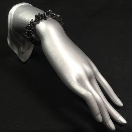 Shungite Chips Scaglie Bracelet MINERALS Chakra Gift Idea Stone Beads-2