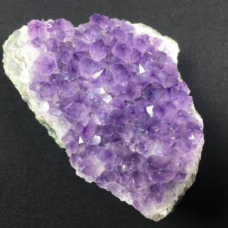 AMETHYST Geode DRUZY Purple MINERALS Excellent 195gr 40x60x82mm Chakra A+-2