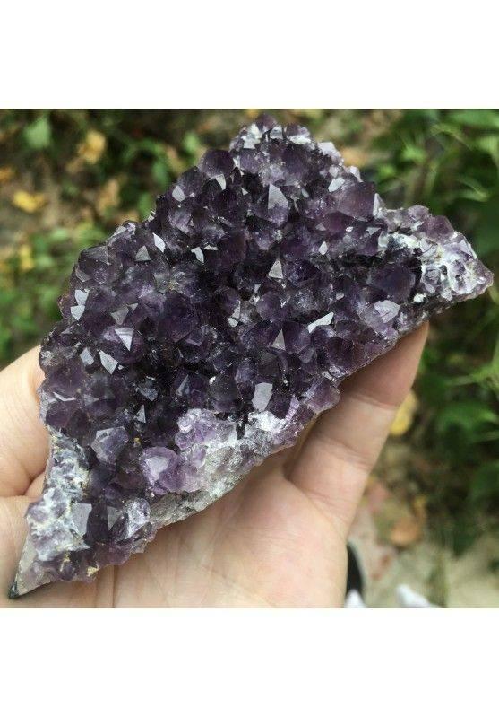 AMETHYST DRUZY Purple Cluster MINERALS Wonderful 181gr Geode Reiki Zen Quality A+-1