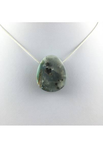 Pendant Special in Orbicolar Ocean JASPER Necklace Crystal Healing A+-1