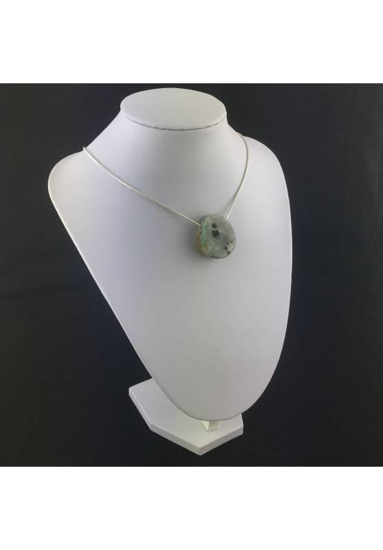 Pendant Special in Orbicolar Ocean JASPER Necklace Crystal Healing A+-2