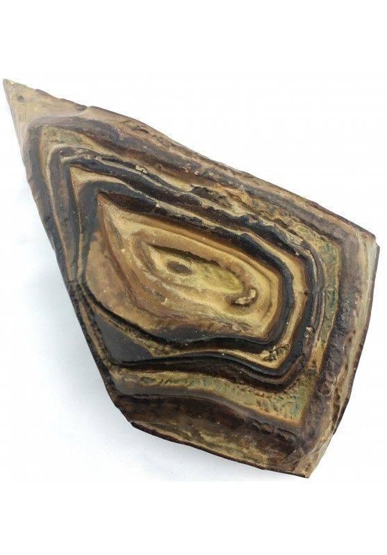 * Minerali * STROMATOLITE GIGANTE GREZZA Pakistan Cristalloterapia Collezionismo-2