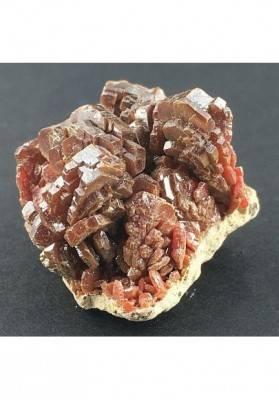VANADINITE Cristallizzata su Matrice Grezza Minerale Collezionismo-1
