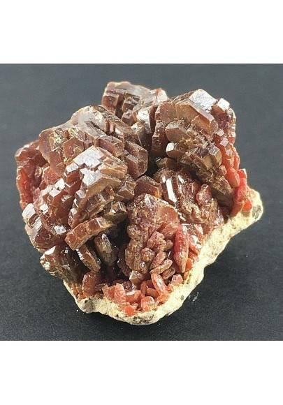 Crystallized VANADINITE on Matrix Rough MINERALS Specimen-1