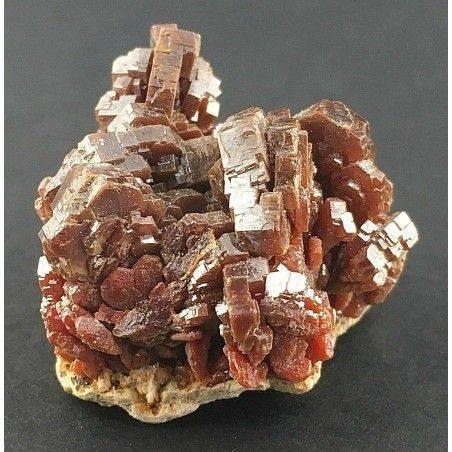 VANADINITE Cristallizzata su Matrice Grezza Minerale Collezionismo-2