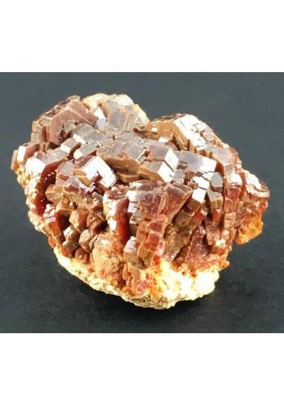 * Minerali * VANADINITE Marocco su Matrice Grezza Collezionismo Chakra Reiki-1