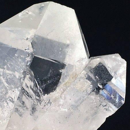 Drusa Gruppo QUARZO IALINO Punte Quarzi Brasile Alta Qualità Cristalloterapia-2