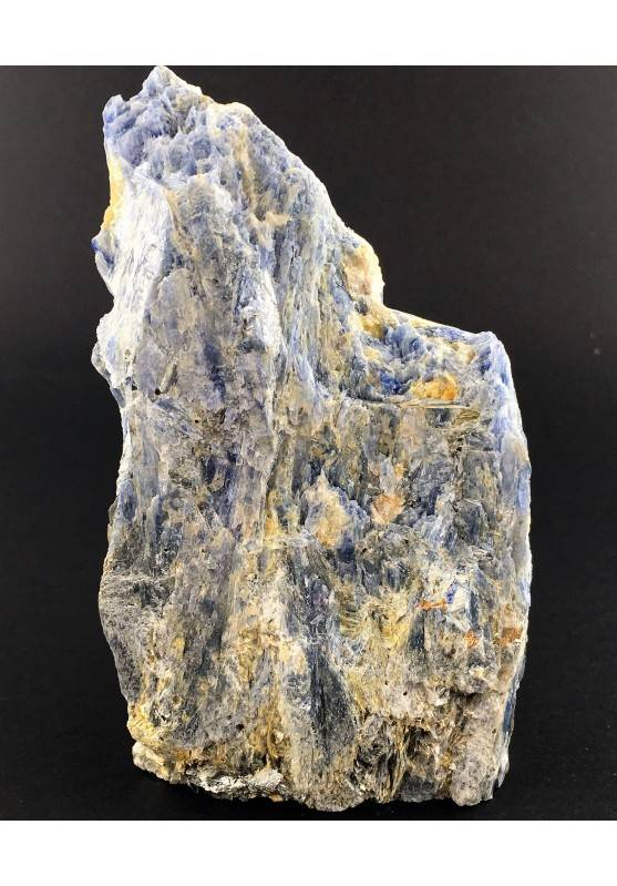 BIG Blue Kyanite with Quartz MINERALS Rough Base Specimen Minerals-1