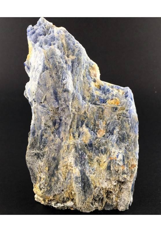 Grande CIANITE Blu con QUARZO Minerali Grezza Base Collezionismo Arredamento-1