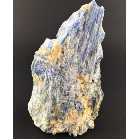 Grande CIANITE Blu con QUARZO Minerali Grezza Base Collezionismo Arredamento-2