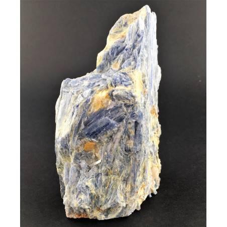 Grande CIANITE Blu con QUARZO Minerali Grezza Base Collezionismo Arredamento-3