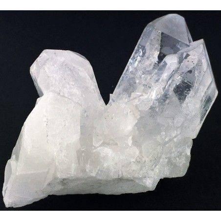 Druzy Clear QUARTZ Cluster Druzy Rock CRYSTAL Pure Crystal Healing-1