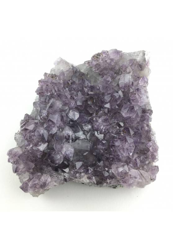 Amethyst Druzy Violet Specimen of Brasil Crystal Rutilated High Quality-4