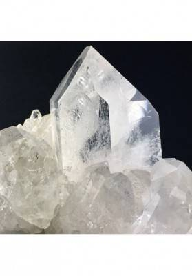 Druzy Clear QUARTZ Cluster Druzy Rock CRYSTAL Specimen Crystal Healing-3