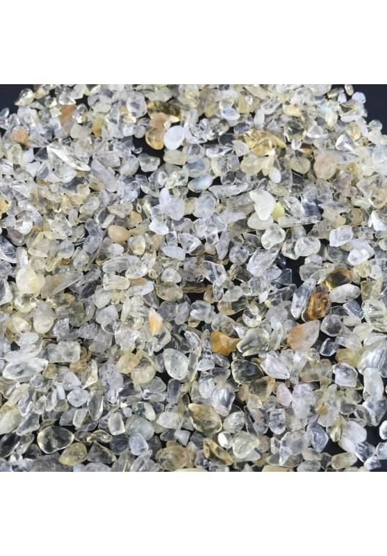 Mini Micro Granules CITRINE Quartz 50g Tumbled Stone MINERALS Crystal Healing Quality A+ Zen-1