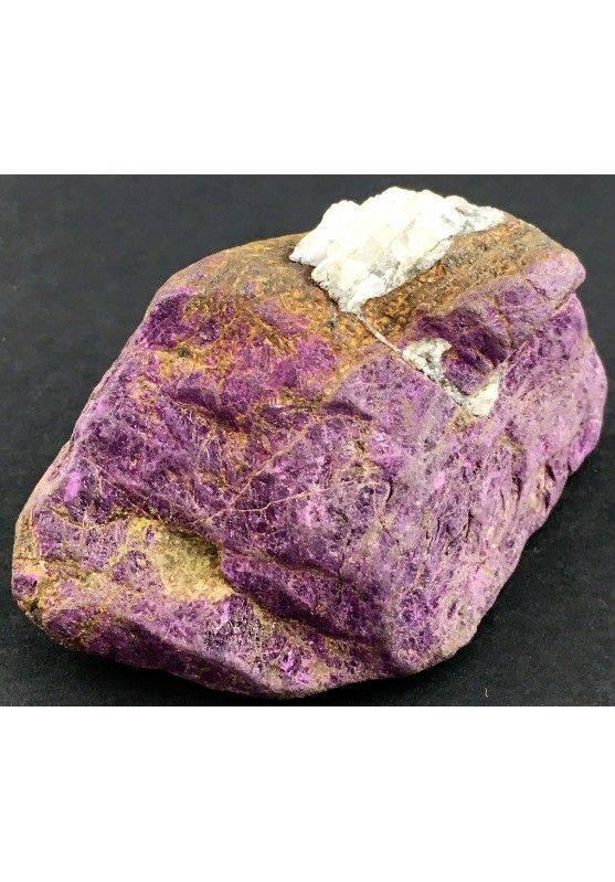 Rara PURPURITE GREZZA Grande Alta Qualità Minerale Viola Cristalloterapia-1