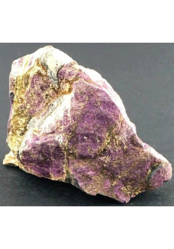 Stupenda PURPURITE GREZZA Grande Alta Qualità Minerale Viola Cristalloterapia-1