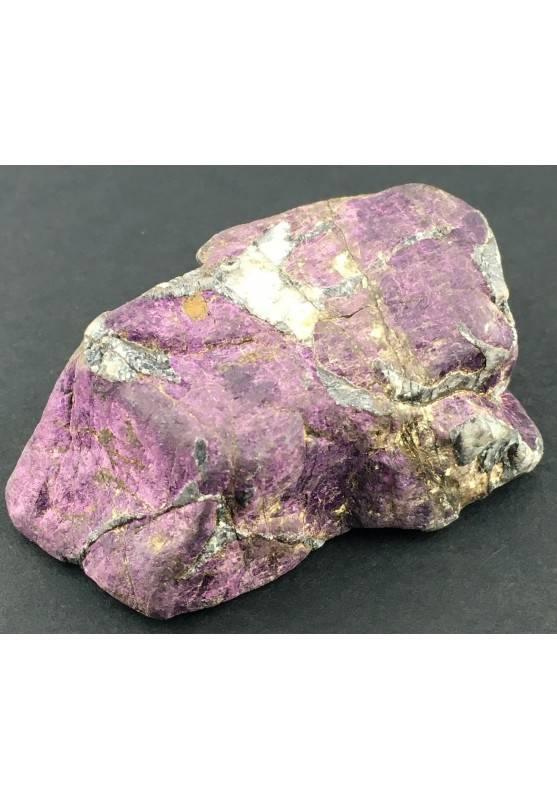 Rara PURPURITE GREZZA Grande Alta Qualità Minerali Viola Collezionismo Chakra-1
