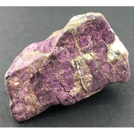 Rara PURPURITE GREZZA Grande Alta Qualità Minerali Viola Collezionismo Chakra-2