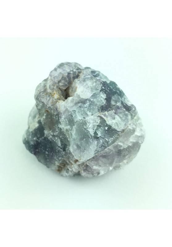 * MINERALS * Fluorite Rainbow Green Violet Minerals Specimen Crystal Healed 77g-1