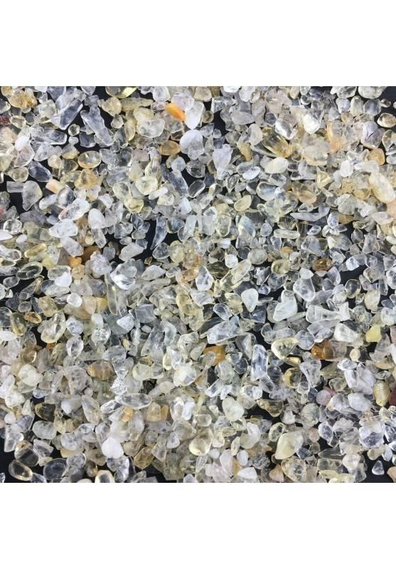 Mini Micro Granules CITRINE Quartz 100g Tumbled Stone MINERALS Crystal Healing Quality A+-1