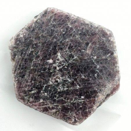 Wonderful Rough RUBY Slice Hexagon MINERALS Crystal Healing Specimen-1