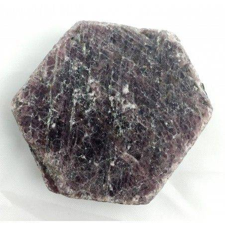 Wonderful Rough RUBY Slice Hexagon MINERALS Crystal Healing Specimen-2