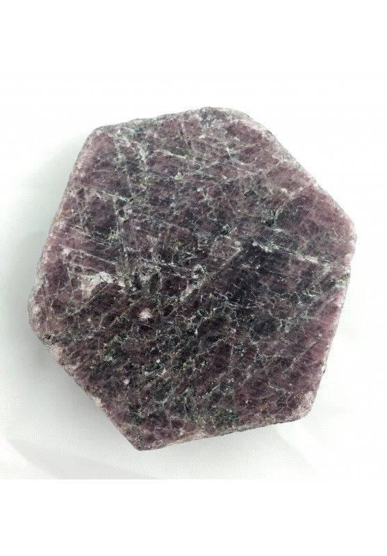 Wonderful Rough RUBY Slice Hexagon MINERALS Crystal Healing Specimen-3