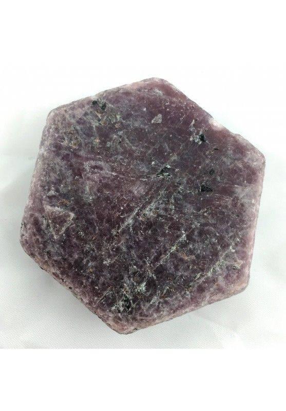 Wonderful Rough RUBY Slice Hexagonal MINERALS Crystal Healing Chakra Reiki-2