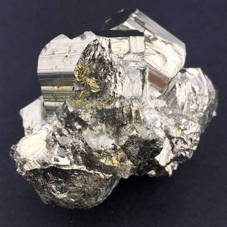 * MINERALS * Pentagonal Pyrite from Perù EXTRA Quality Crystal Healing Chakra-1