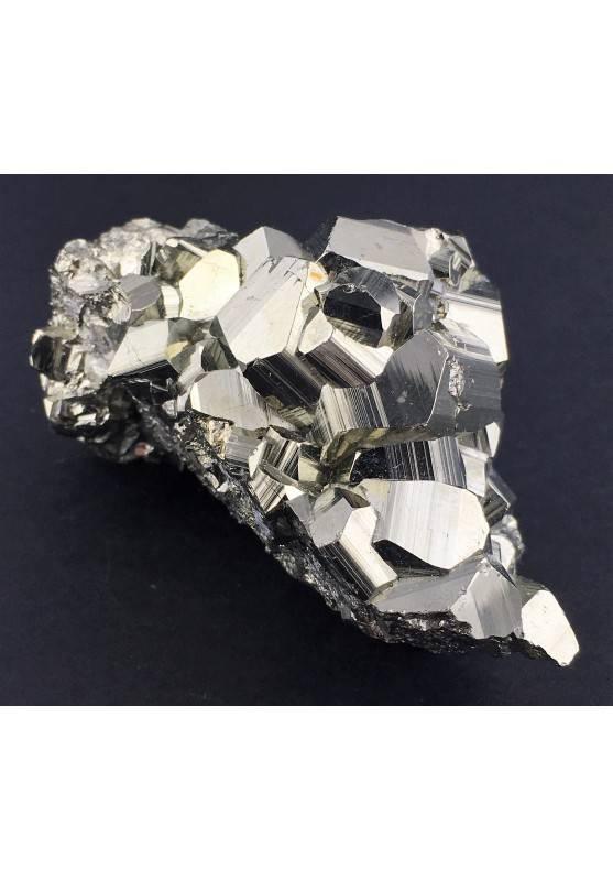 * MINERALS * Pentagonal Pyrite from Perù EXTRA Quality Specimen Chakra Zen-1