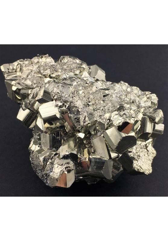 * MINERALS * Pentagonal Pyrite from Perù EXTRA Quality Specimen Reiki 362g-3